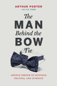 Man Behind Bowtie Cover