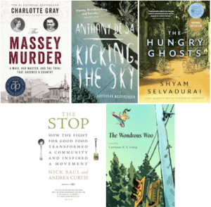 Toronto Book Awards finalists 2014
