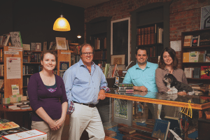 The Biblioasis team (photo: Kim Moir)