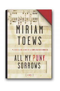 All My Puny SorrowsMiriam Toews(Knopf Canada)