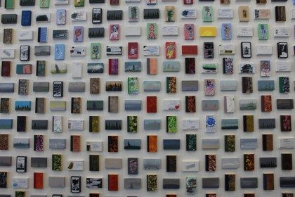 Q&A: artist Cliff Eyland on his 5,000 paintings project at Halifax Central Library