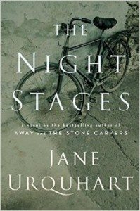 The Night Stages (Jane Urquhart) cover