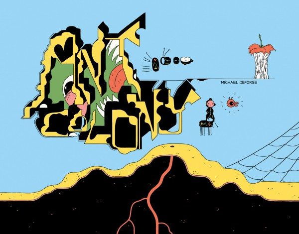 Ant Colony (Michael DeForge) cover