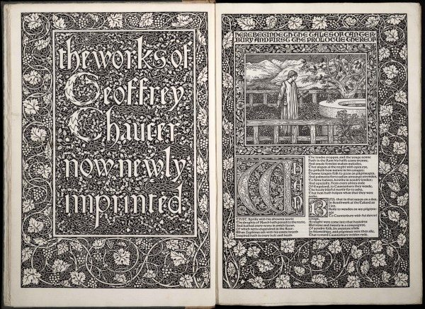 Image of 'the work of Geoffrey Chaucer now newly imprinted'