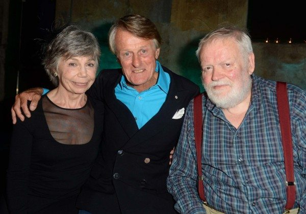 Jane Munro, Scott Griffin, and Michael Longley. (photo: Tom Sandler)