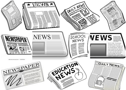 Free newspaper clipart fall preview 2015 front-page disruptions