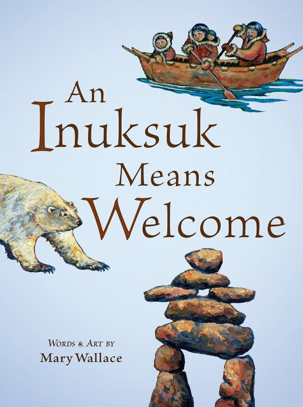An Inuksuck Means Welcome