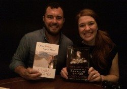Photos: Clara Hughes and Jody Mitic book tour
