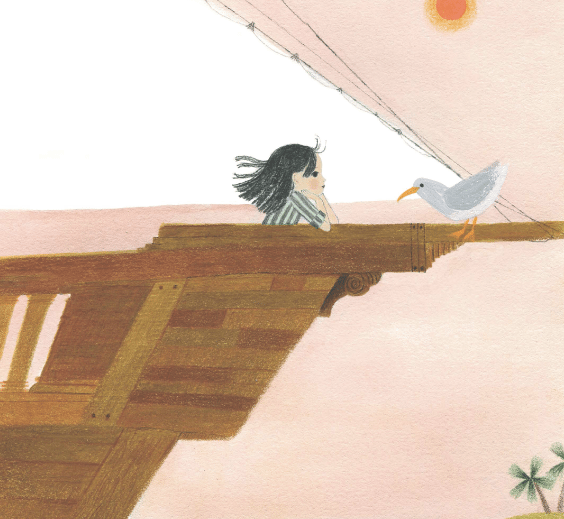 This is Sadie, Sara O'Leary; Julie Morstad, illus.