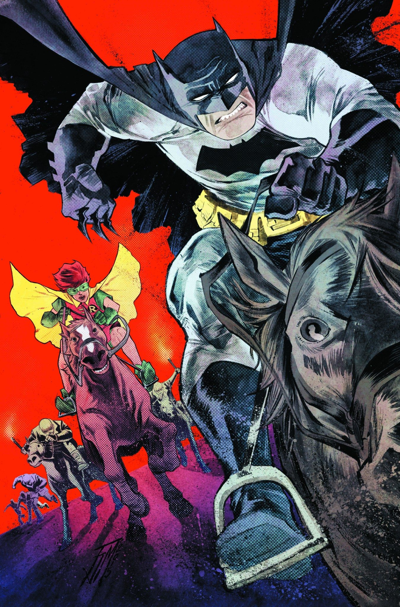Comic Book Cover Artist Jobs ~ New frank miller batman series features variant cover by