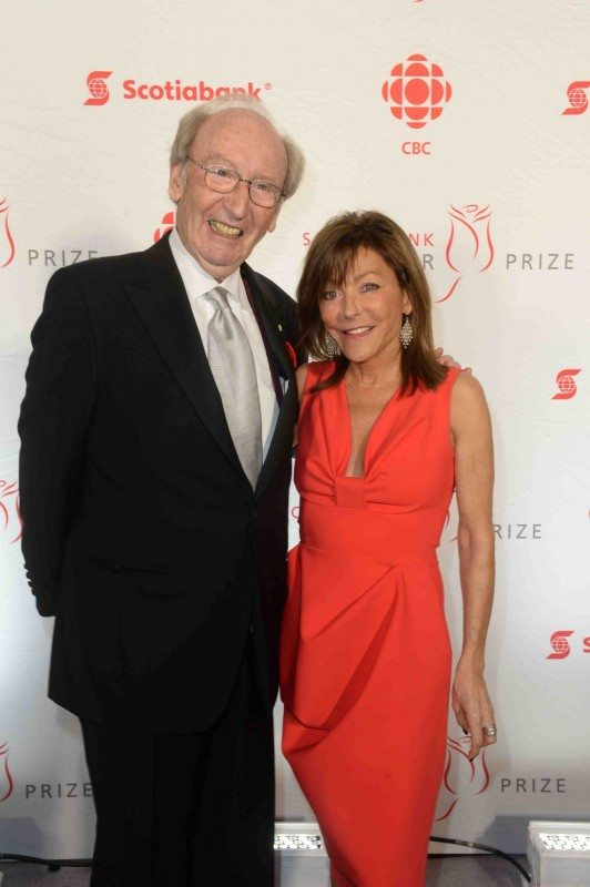 Giller Prize founder Jack Rabinovitch and executive director Elana Rabinovitch (Tom Sandler)
