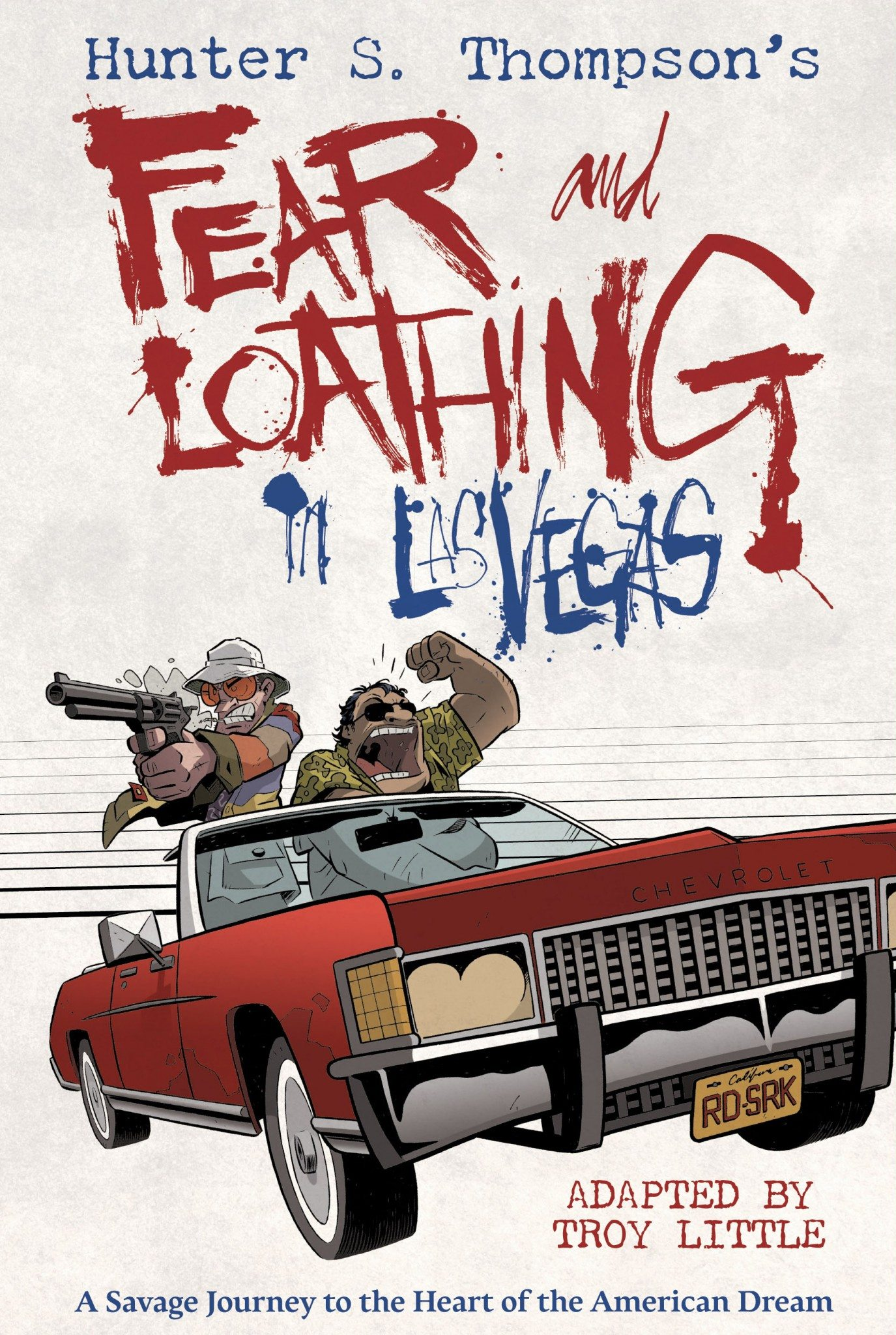 Fear and Loathing in Las Vegas (Troy Little) cover