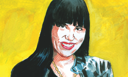 Lisa Charleyboy (illustration: Chris MacDonald)