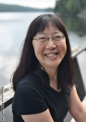 Author-illustrator Debbie Ohi (photo: Annie T.)