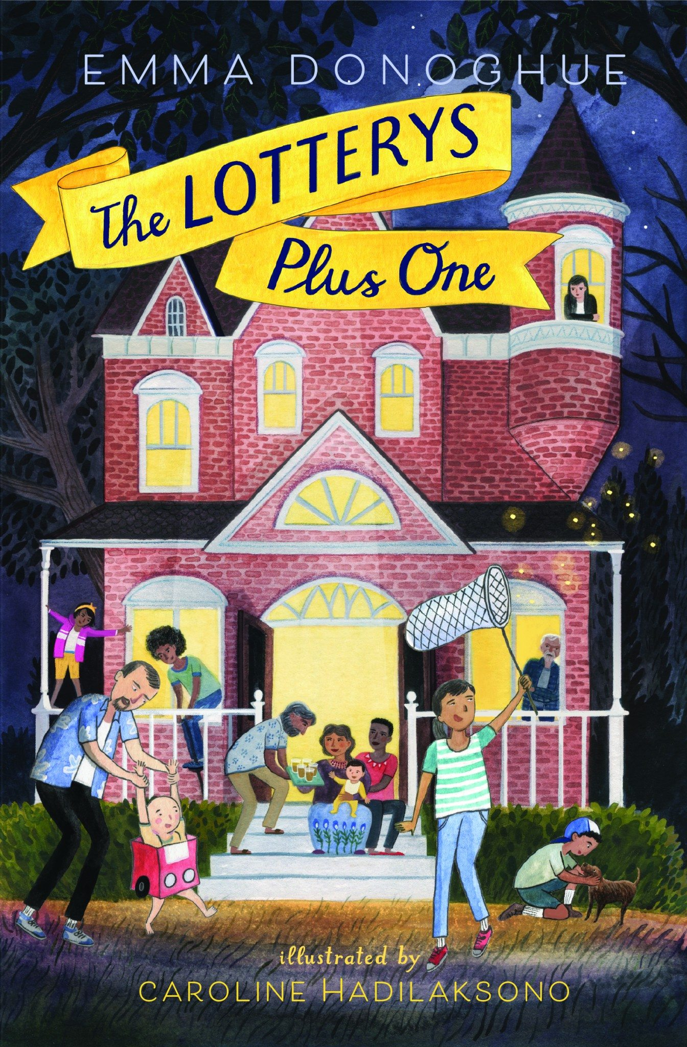 The Lotterys Plus One, Emma Donoghue (HarperCollins, March 2017)