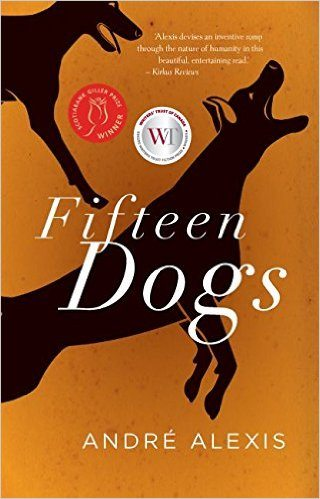 2015 André Alexis; Alana Wilcox, ed., Fifteen Dogs (Coach House Books)