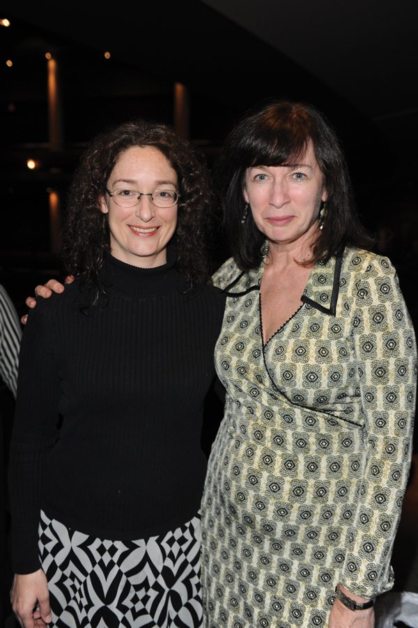 Annabel Lyon and Anne Collins (photo: Tom Sandler)