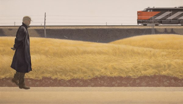 Alex Colville, Ocean Limited, 1962. From Colville by Andrew Hunter (Art Gallery of Ontario/Goose Lane Editions