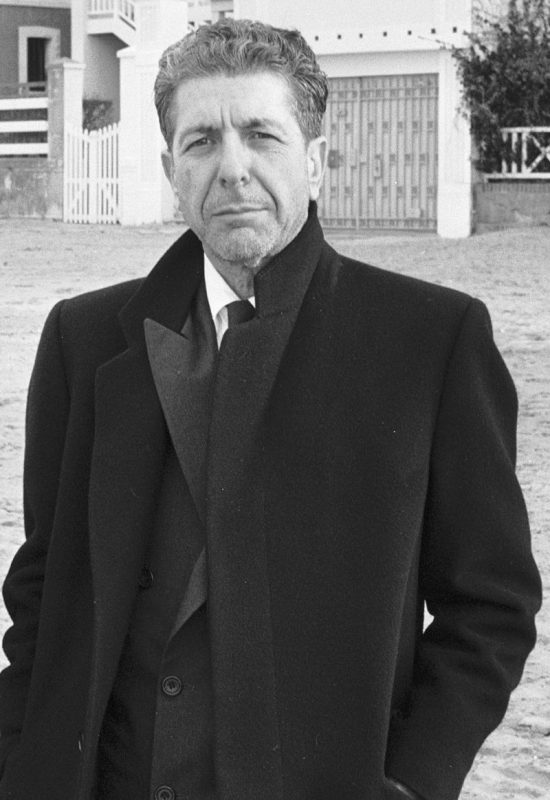 Cohen in France, 1988. (Photo: Roland Godefroy, Creative Commons)