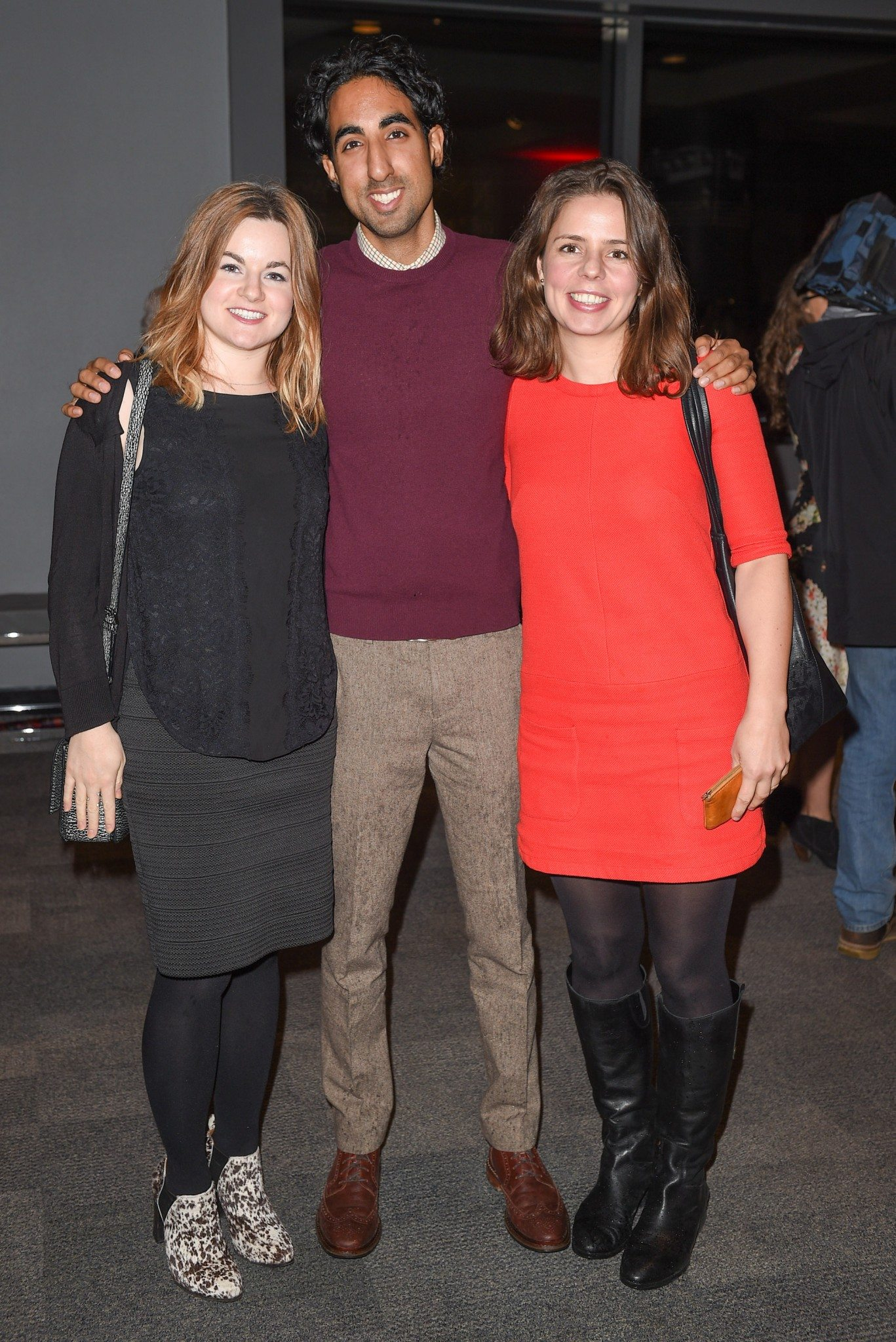 Jolise Beaton, Neil Wadhwa, and Gillian Fizet (Photo: George Pimentel Photography)
