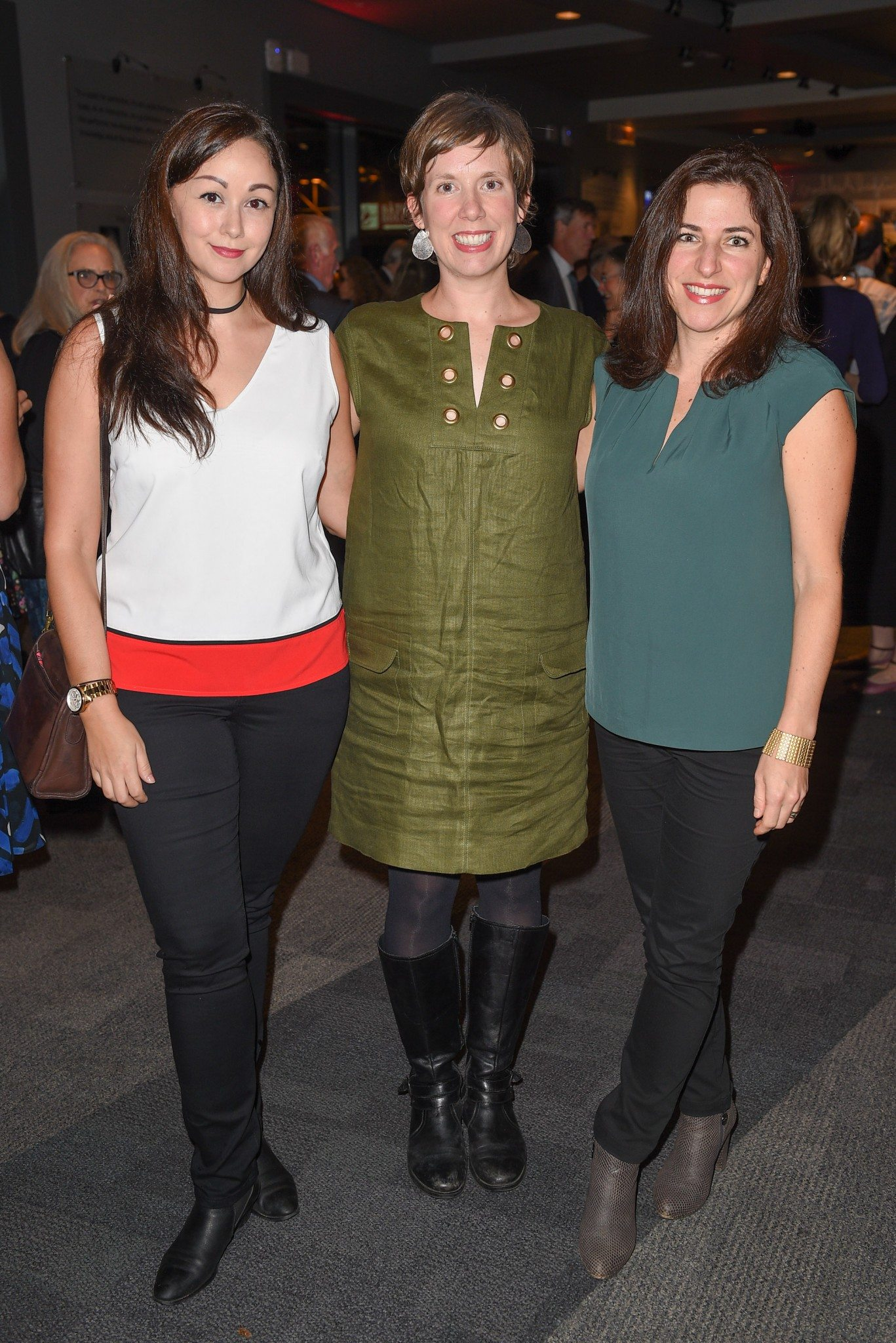 Grace O'Connell, Trena White, and Jesse Finkelstein (Photo: George Pimentel Photography)