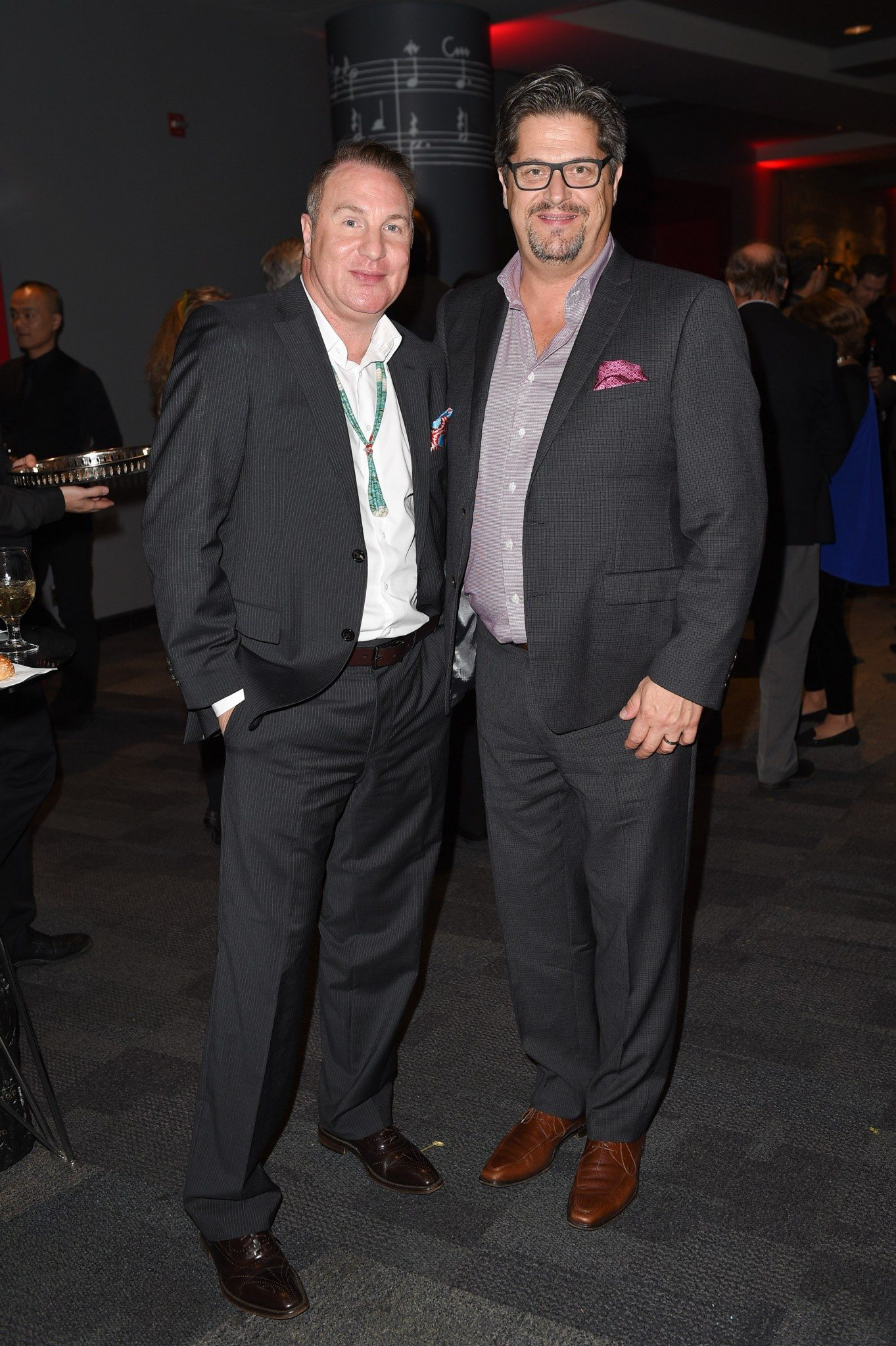 Gregory Scofield and Mark Ottewell (Photo: George Pimentel Photography)
