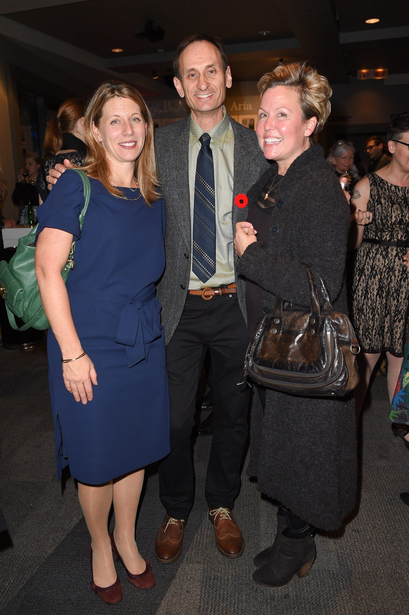 jennifer Lambert, Alan Cumyn, and Kerry Lee Powell (Photo: George Pimentel Photography)
