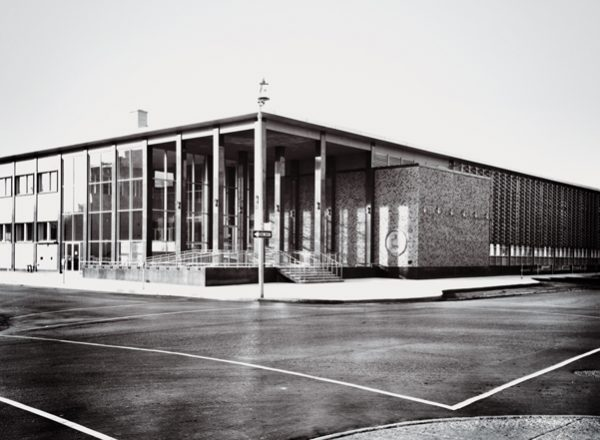 The Regina Public Library Central Branch, circa 1960s (Photo: City of Regina Archives)