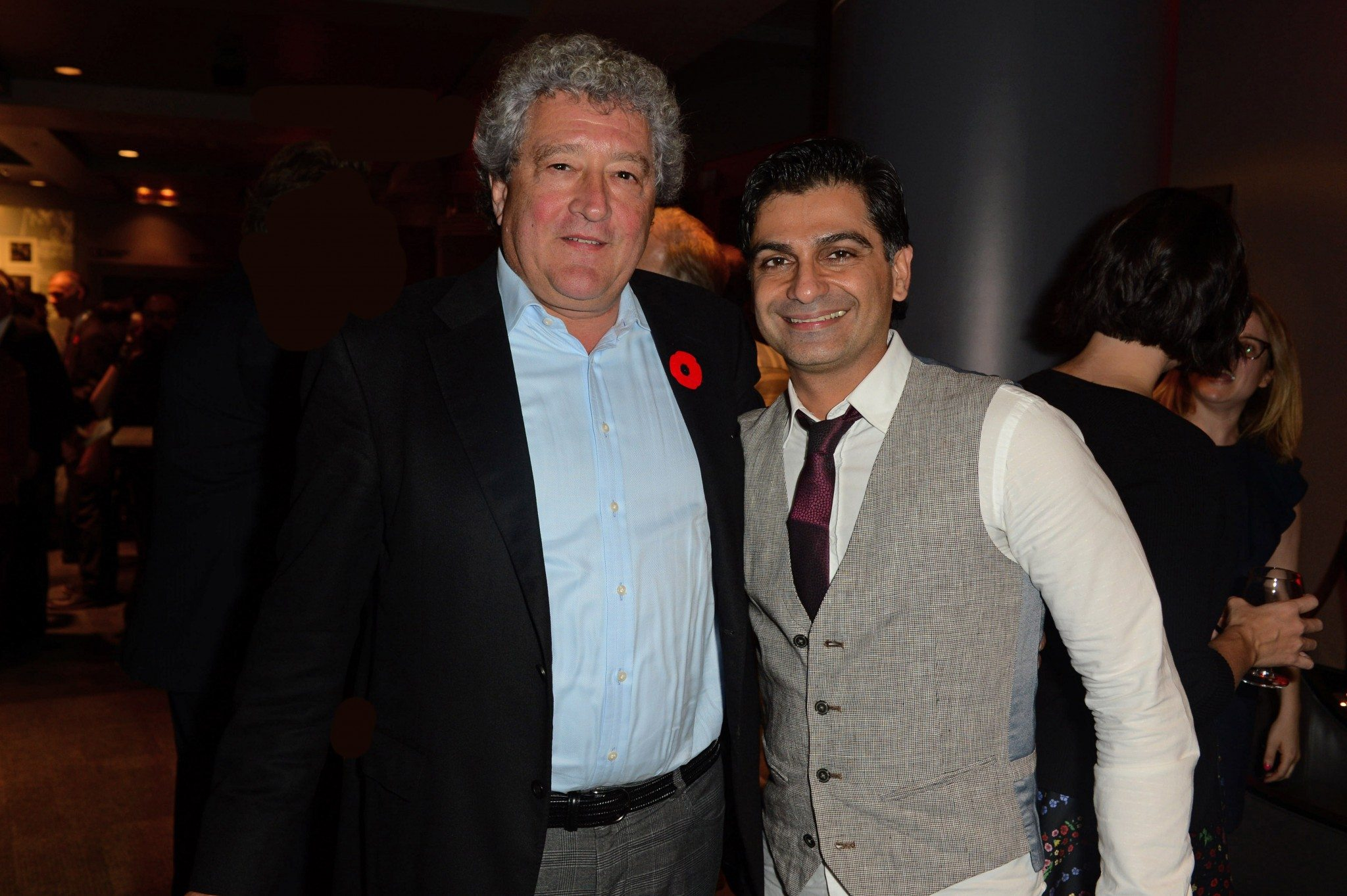 Brad Martin and Anosh Irani(Photo: Tom Sandler)