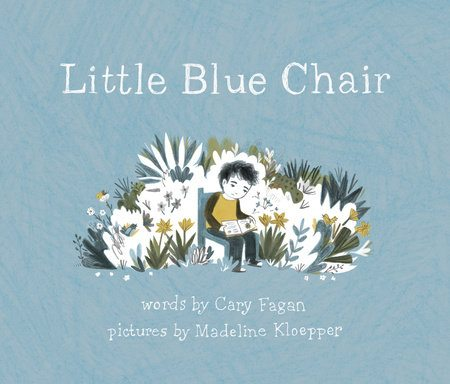 little blue chair cary fagan