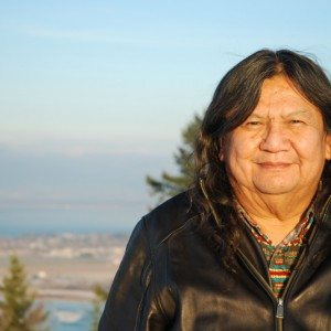 Indigenous land and human rights activist Arthur Manuel, who passed away in January 2017.