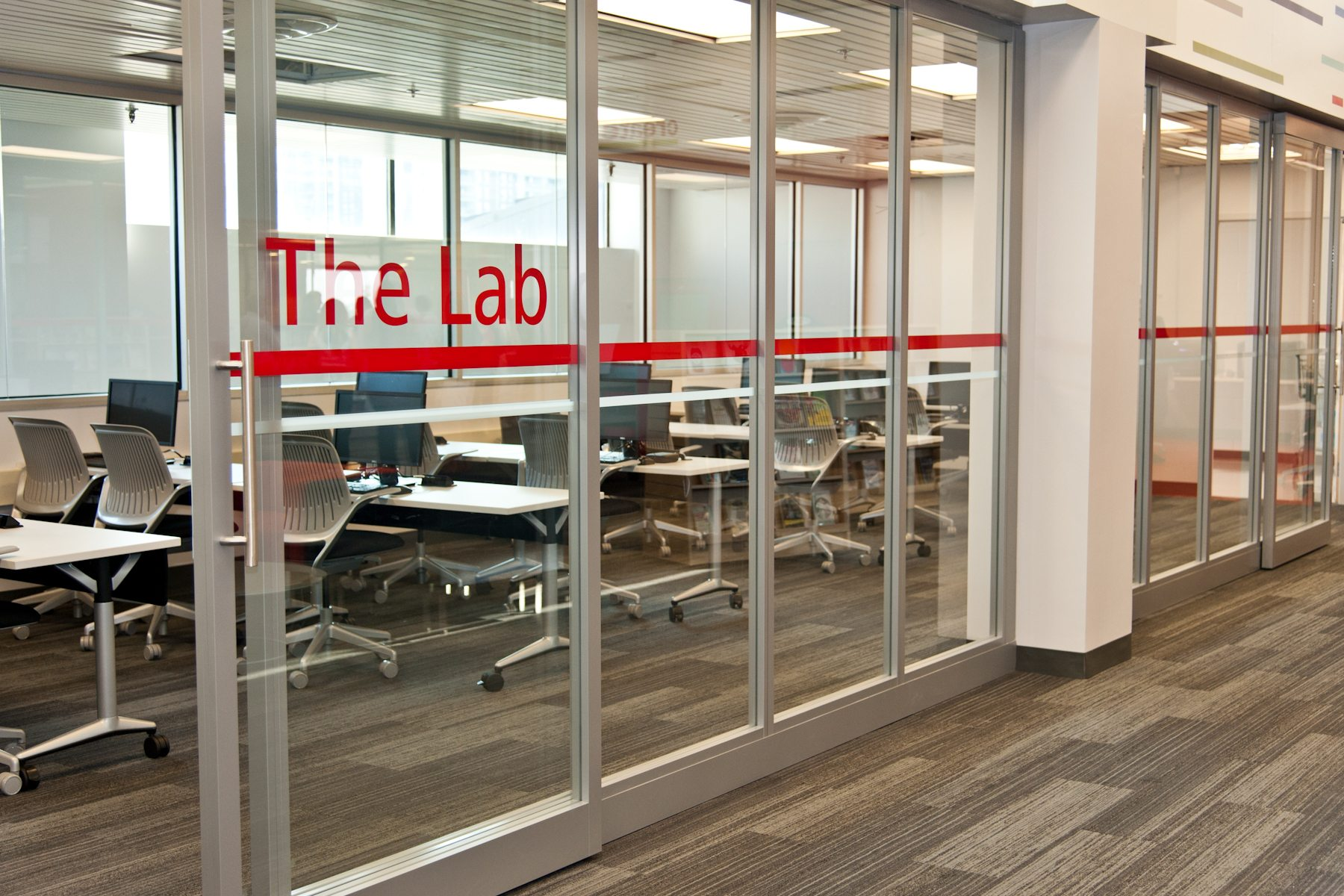 """""""The computer lab is not only for us to be able to close the door and offer computer classes in almost anything you can imagine - when it's not in use for a class, those computers are available for the public."""""""