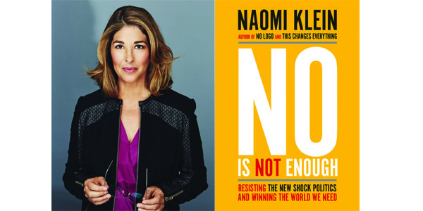 Image result for naomi klein no is not enough