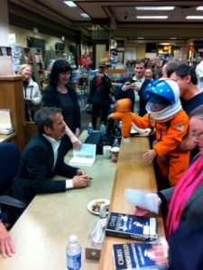 Chris Hadfield at Bolen Books