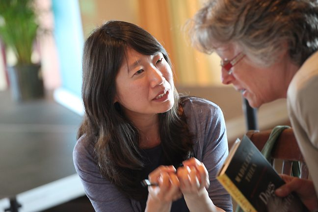 Madeleine Thien at Kingston Writers Fest 2011 (Photo: Bernard Clark)