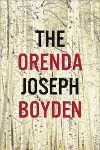 The Orenda by Joseph Boyden, designed by Lisa Jager (Hamish Hamilton Canada)